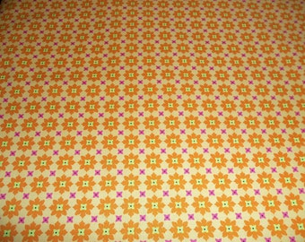 Michael Miller Tiny Flowers in Tangerine - 1 yard