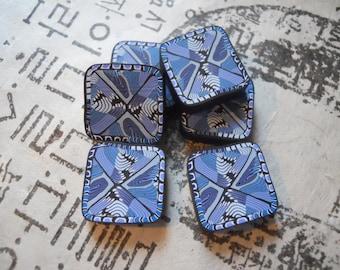 Polymer Clay Beads von TLS-Ton-Design
