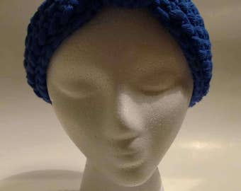 Blue Adult Knit Headband - Knit Headband