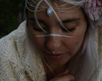 Head Jewelry with Moonstone