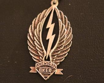 Vintage New American Biker Necklace