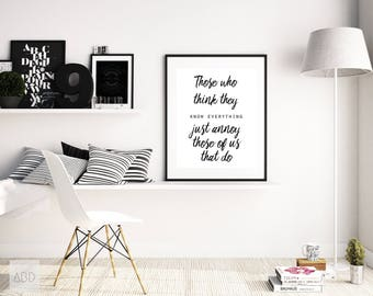 Printable funny office, Funny office quote, Printable funny print, Printable office print, cubicle wall decor, office art, cubicle decor