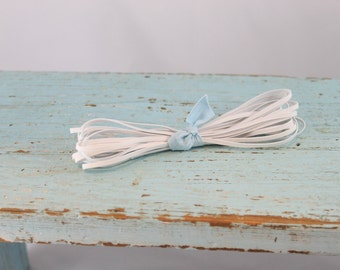 """Waldorf Doll supplies for making doll clothes 1/8"""" Soft Baby Elastic 5 yards"""