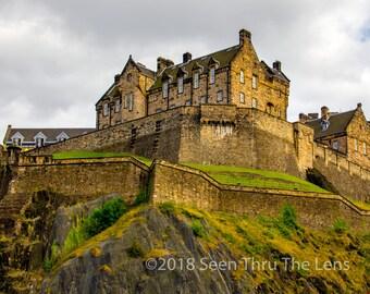 Edinburgh Castle - Photographic Print
