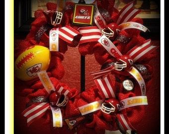 Kansas City Chiefs Wreath