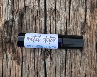 Heavy Metal Detox Oil