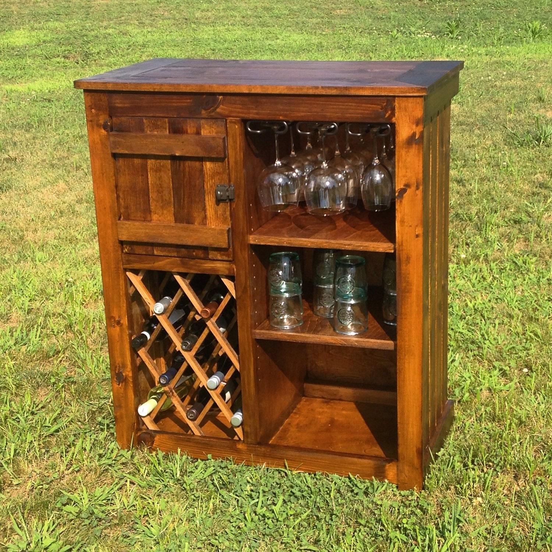 Mueble r stico vino bar - Mueble bar rustico ...