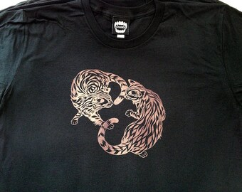 Bengal Bathtub  / Black / Men's T-shirt