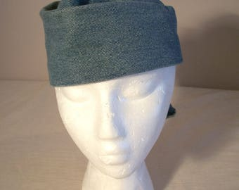 Repurposed Denim Ladies' Hat
