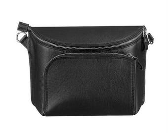 Black Universal Crossbody Bag