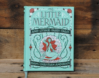 Book Safe - The Little Mermaid - Leather Bound Hollow Book Safe