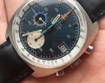 Vintage automatic omega seamaster chronograph