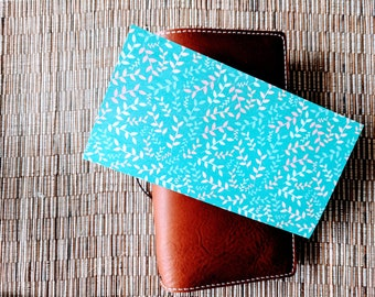 Spring Vines Traveler's Notebook Insert | Midori Insert | TN Insert | Fauxdori | Tomoe River | A5 B6 Passport Standard Pocket