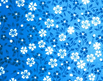 Blue Floral Pattern Digital Download