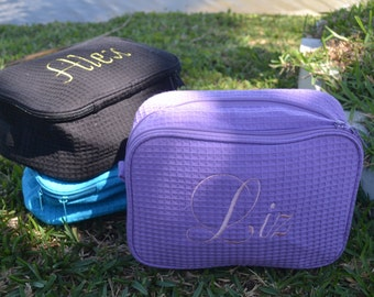 Personalized toiletry bag, personalized travel bag, personalized gift, toiletry bag, travel bag, bridal party, wedding party, travel gift