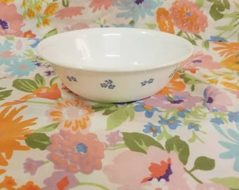 Corelle by corning provincial blue cereal bowl 6 inch blue and white 1990s
