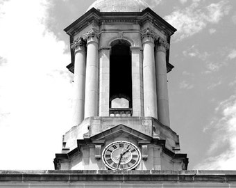 Penn State Photography, Architecture Photograph, Black and White Photo, Old Main 3, Limited Edition of 25 Fine Art Photography Prints
