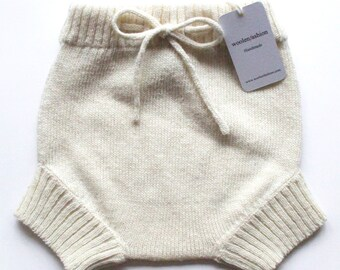 Babies knitted lambswool Diaper cover/nappy cover/short Trousers/shorts/pants/white/pink/blue/gray