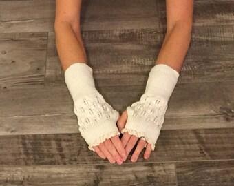 Finger Less Gloves, Fingerless Knit Gloves, Arm Warmers, Women Knit Gloves, Knit Arm Warmers, Finger Less Knit Gloves, Knit Gloves For Women
