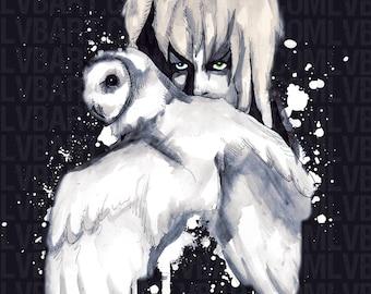 Goblin Owl Fine Art Print