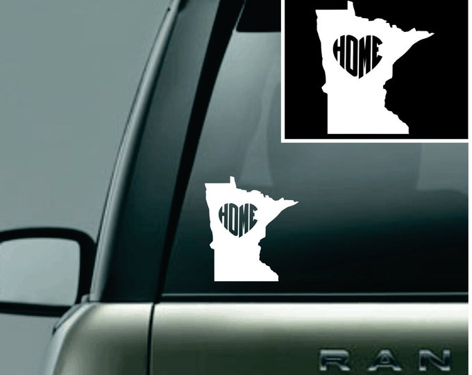 Minnesota Love Your State Car Decal