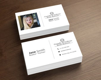 Real estate business card free shipping real estate business cards realtor business card digital file only printable business card full customization colourmoves