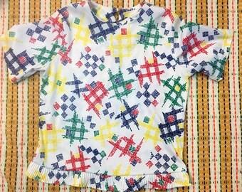 Colorful Vintage Shirt
