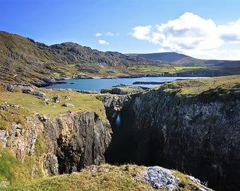 Ireland, Irish, Wild Atlantic Way, Beara Peninsula, Copper Mining, Mountains, Sea, Allihies, Butte, Montana, Arches, Slieve Miskish Mountain