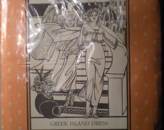 Folkwear Greek Island Dress Pattern 266 FF