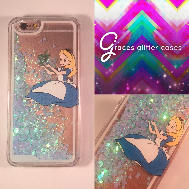 iphone 6 glitter cases disney