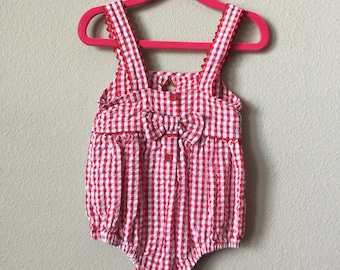 vintage baby sunsuit