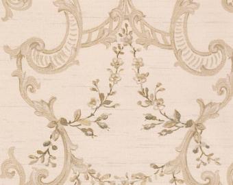 Nantucket Floral & Ornamental Wallpaper  Removable Wallpaper Roll NK2081
