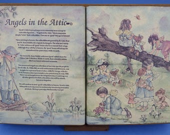 "SARAH'S ATTIC ""Angels in the Attic"" Open Book"