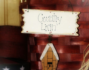 Outhouse Country Livin Primitive Bathroom Outhouses Sign Wall Decor