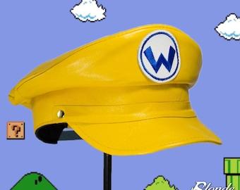 Wario Inspired Plumber Cap