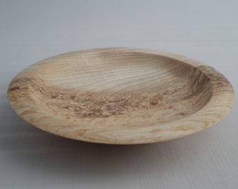 Hand Turned Wood Fruit Bowl/Platter