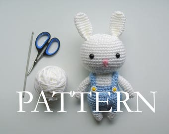 Rabbit Amigurumi Crochet PDF PATTERN (English)