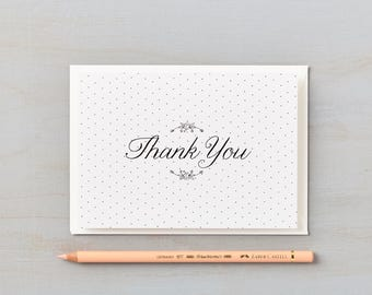 Daisy Chain Design Thank you cards