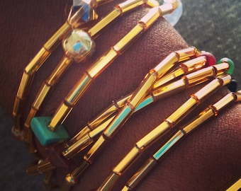 Wrap Bracelets (set of three)
