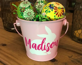 Personalized Easter Mini Pail