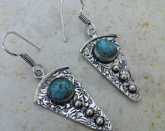 Turquoise Earrings~Native American Jewelry~Fashion  Jewelry