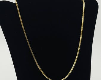 Vintage Monet Chain Necklace Long Monet Chain 30
