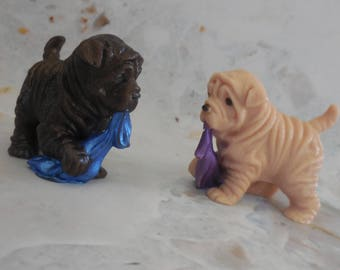 Puppy Soap - Dog Soap - Shar Pei Dog - Shar Pei Gift - Doggy Soap - Dog Lover Gift - Glycerin Soap - Blanket Soap - Kids Party Favors