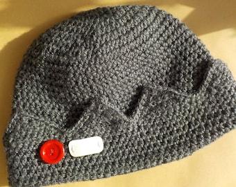 Jughead Jones hat Crochet riverdale beanie Jughead Jones hat with button Valentines day gift for him her Teens boyfriend girlfriend