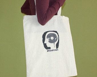 Brainstorm Tote Bag, Long Handles