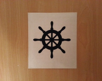 Compass Rose Decal Nautical Wall Decal Compass Rose Sticker