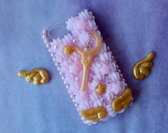Fits iPhone 5/S/SE Sailor Moon Decoden Case