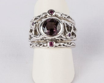 SOLD! Sold! fantasy ring one of a kind 'twisted forest'