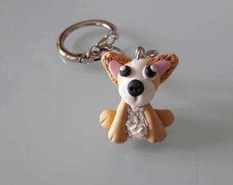 Key dog polymer clay