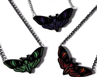 Aurora Moth Necklace